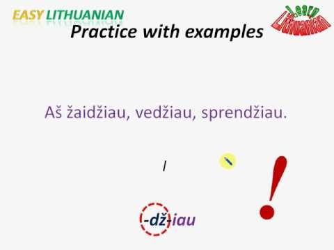 Easy Lithuanian: Past tense Pt. 4/4